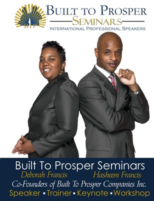 Built To Prosper Seminar Brochure