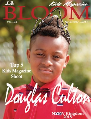 Le bloom Kids Magazine Douglas Culton