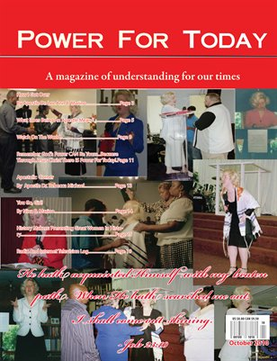 Power For Today, October 2010