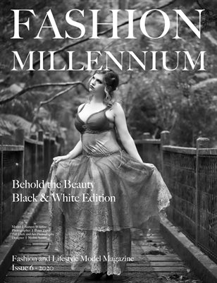 Fashion Millennium Model Magazine Black and White Edition 6