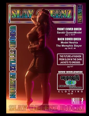Slay Queenz Magazine Unique Stylez Edition