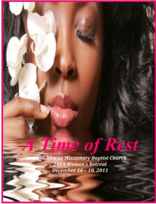 A Time of Rest - Women's Retreat Guide