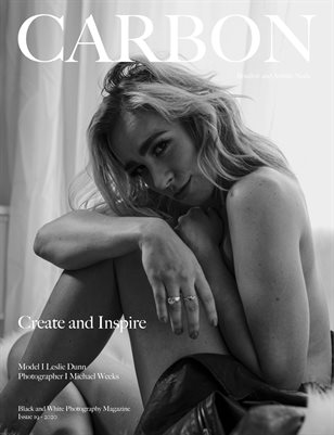 Carbon Black and White Photography Magazine - Art Nude and Boudoir Edition 19