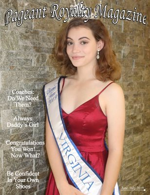 Pageant Royalty Magazine June/July Issue