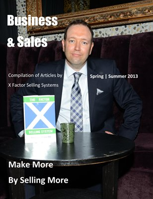 X Factor Selling Systems Magazine