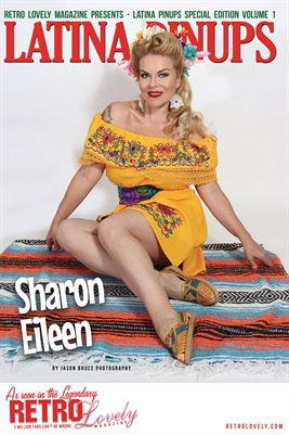Latina Pinups Special Edition Vol.1 – Sharon Eileen Cover Poster