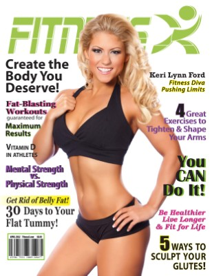 FitnessX Magazine for April 2012