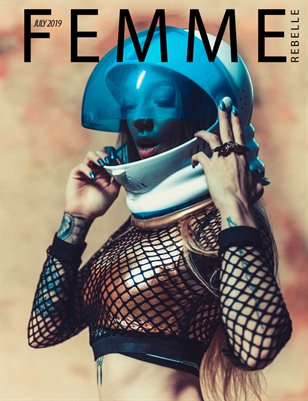 Femme Rebelle Magazine July 2019 BOOK 2 - Ty Cacek Cover