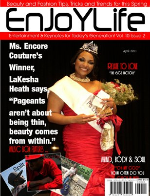 Enjoy Life Magazine Vol. 10 Issue 2, Lakesha Heath