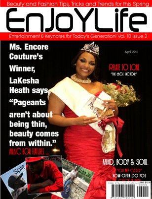 Enjoy Life Magazine Vol. 10 Issue 2, Lakesha Heath