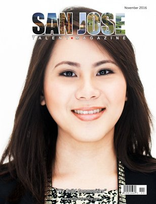 San Jose Talent Magazine November 2016 Edition