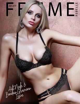 Femme Rebelle Magazine July 2019 ART NUDE / BOUDOIR GLAMOUR ISSUE