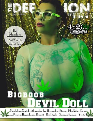 The Definition of High: The Chronic issue 3: Devil Doll cover