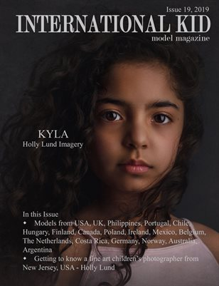 International Kid Model Magazine issue #19