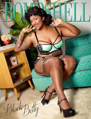 BOMBSHELL Magazine April 2019 BOOK 1 - Black Betty Cover