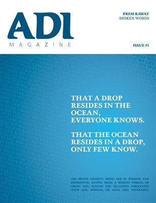 ADI Magazine #1