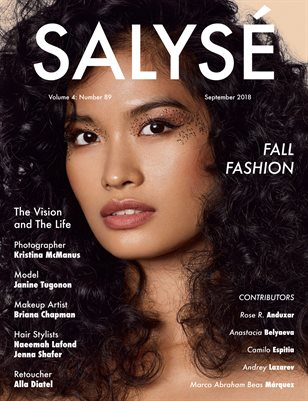 SALYSÉ Magazine | Vol 4 : No 89 | September 2018