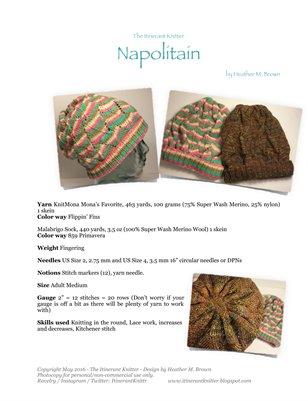 Napolitain Hat