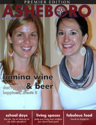 Asheboro Magazine, Premier Edition