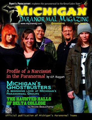 Michigan Paranormal Magazine, 2014 Issue 1