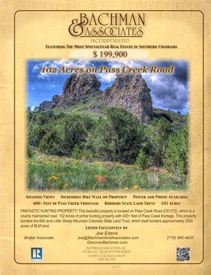 102 Acres on Pass Creek Road
