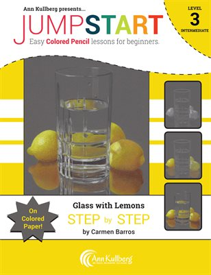 New PublicationJumpstart Level 3: Glass With Lemons on Colored Paper