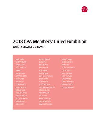 CPA 2018 Jury Exihibition