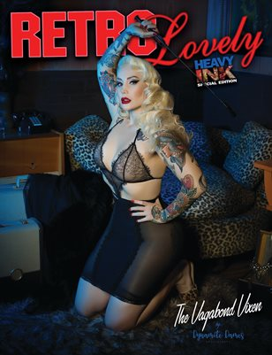 Retro Lovely Heavy Ink No.1 The Vagabond Vixen Cover