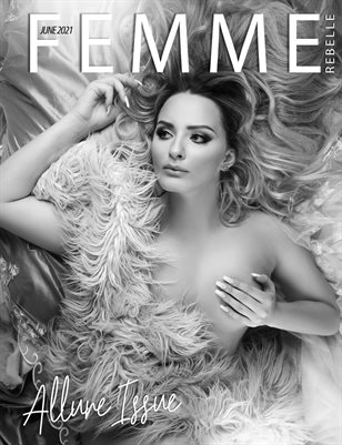 Femme Rebelle Magazine June 2021 ALLURE ISSUE - MyBoudoir Cover