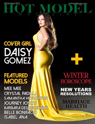 Hot Model Magazine Winter Issue 2015