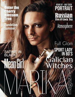 MARIKA MAGAZINE PORTRAIT (July - issue 67)