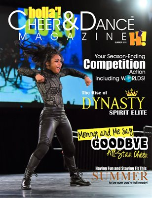 HOLLA'! Cheer and Dance Magazine Summer 2018 Issue