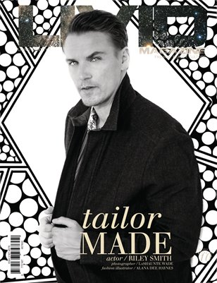 Tailor Made issue 10 - Riley Smith on cover