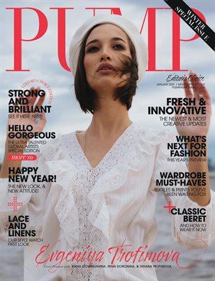 PUMP Magazine | The New Year's Edition | January 2021 | Editor's Choice Edition | Vol.3