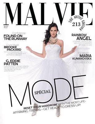 MALVIE Magazine The Artist Edition Vol 213 May 2021