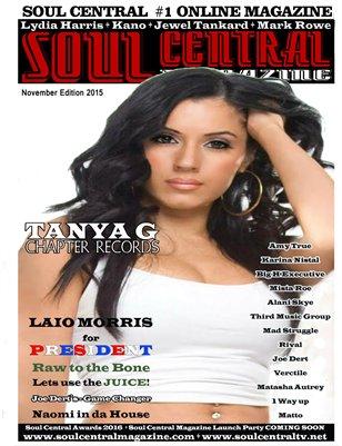 Soul Central Magazine November 2015 Edition