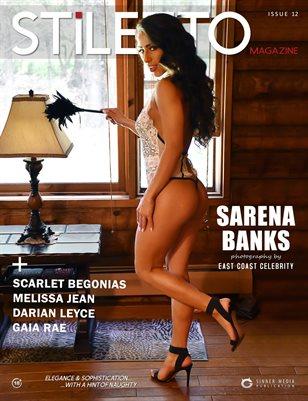 STiLETTO Magazine 12 Ft. Sarena Banks