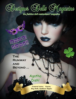 Designer Dolls Magazine - March 2015
