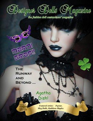 Designer Dolls Magazine - March 2015