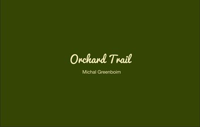 "Orchard Trail - Soft Cover 8.25"" x 5.25"""
