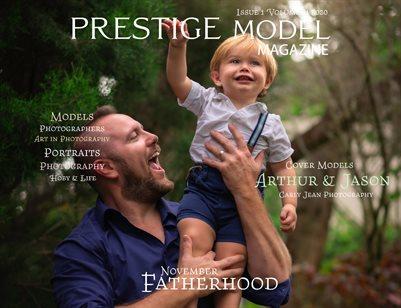 PRESTIGE MODELS MAGAZINE_ Fatherhood 1/11