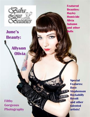 Baba Lous Beauties Issue Two- June 2013