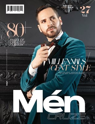MAY 2021 Issue (Vol: 27) | MEN CRUZE Magazine