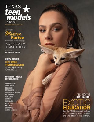 Texas Teen Models Official Magazine - November 2020 - Vol. 38