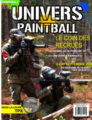 Univers Paintball - Février 2010