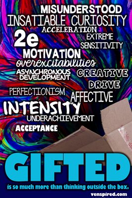 Gifted Ed: It's So Much More Than Outside the Box