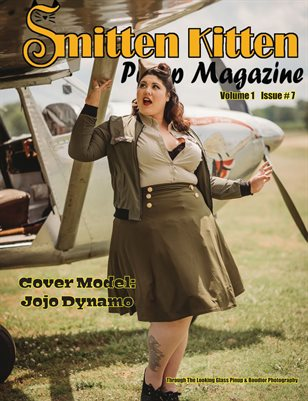 Smitten Kitten Pinup Magazine Cover 6 Jojo Dynamo July 2020 Issue