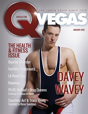 QVegas January 2015 | The Health & Fitness Issue