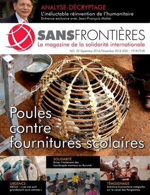 Magazine Sans Frontières (Num.23/Sept-Nov 2014)