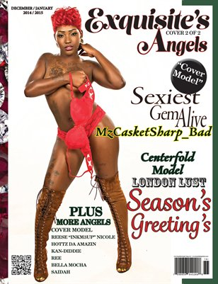 Exquisite's Angels Magazine Issue #1 Cover #2